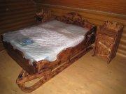Кровать Сани  МС-11 Мебель из натурального дерева Сварог Крым Симферополь, Севастополь, Ялта