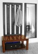 Вешалка зеркало ПМ-79 Мебель на заказ