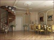 Дизайн гостиной: роскошный интерьер, зонирование пространства
