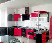 Кухня из МДФ крашеного со столешницей из искусственного камня. Мебель на заказ  Украина, Киев и Киевская область