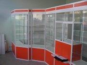 Алюминевые витрины и прилавки для магазина МТА-16 Торговое оборудование на заказ Крым, Симферополь, Севастополь, Ялта, ЮБК, Алушта, Судак, Коктебель, Феодосия,
