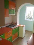 Кухня в стиле модерн для маленькой квартиры МДК-96 Кухни на заказ Киев, Украина,
