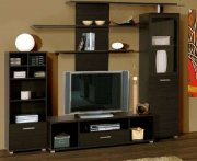 Небольшая мебельная стенка в зал МДК-94 Мебель на заказ Симферополь,  Алушта, Cевастополь, Ялта,  Судак, Феодосия , Коктебель и Евпатория, Керчь.