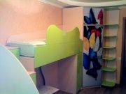 Детская комната с двухэтажной кроватью МДД-60 Детские на заказ Киев, Львов, Чернигов, Бровары, Познякм