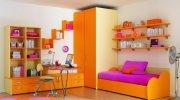 Оранжевая детская мебель МДД-61 Детские на заказ Украина, Киев,