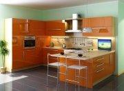Кухня с глянцывыми крашеными фасадами МДК-98 Индивидуальное изготовление кухонь Симферополь, Севастополь, Ялта, ЮБК, Алушта, Судак, Коктебель, Феодосия