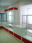 Торговые прилавки и витрины из алюминия и стекла МТАа-32 Торговая и аптечная мебель на заказ Киев, Вишневое, Ирпень, Винница, Боярка, Подол,
