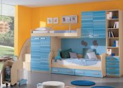Детская двухэтажная кровать с шкафчиками и пеналами МДД-67 Киев, Чернигов, Борисполь, Ирпень, Бровары