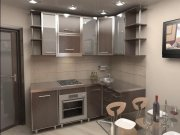 Кухня в хрущевку МДКм-104 Кухонная мебель на заказ Киев, Украина