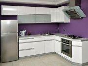 Кухня с крашенными фасадами МДКк-106 Изготовление кухонь на заказ Киев, Подол, Оболонь, Чернигов, Борщяговка