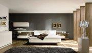 Мебель для спальни МДС-52 Двухспальная кровать с камодом на заказ Киев, Бровары, Ирпень, Вишневое, Украина