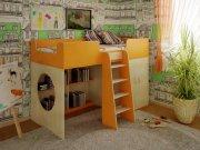 Двухэтажная кровать в детскую МДД-71 Мебель для детской комнаты на заказ Киев, Украина, Оболонь, Подол, Троещина, Боршаговка, Вишневое, Ирпень, Бровары