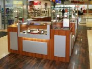 Стеклянный остров для бижутерии МТС-5 Торговая мебель из стекла на заказ Украина, Киев, Киевская область,