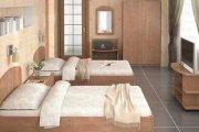 Односпальные кровати для гостиницы МДс-5 Мебель для отелей на заказ в Крыму, Ялте, Симферополе, Алуште, ЮБК, Севастополе, Судаке, Евпатории, Феодосии в Киеве и по всей Украине