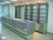 Стеллажи и стеклянные прилавки для магазина МТД-117 Торговая мебель в Киев, Киевской области, Украине.