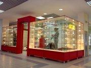 Торговые стеклянные витрины для всех типов магазинов