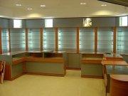 Торговая мебель и витрины из ДСП