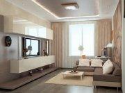Уютная гостиная для малогабаритной квартиры