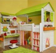 Кровать-чердак в детскую: используем пространство правильно