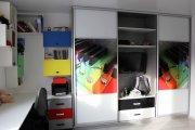 Шкаф – купе в комнату подростка