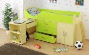 Кровать-чердак для ребенка - особенности конструкции