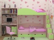 Двухярусная кровать МДД-1 Мебель для детской комнаты Киев, Львов, Чернигов, Оболонь, Винница, Ивано-Франковск.