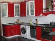 Кухня с радиусными фасадами из крашеного МДФ КР-9