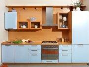 Кухня из пластика (постформинг)КП-33