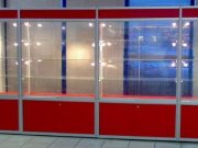 Витрина торговая алюминиевая ТА-17 на заказ КРЫМ, Симферополь, Севастополь, ЮБК, Саки, Судак, Евпатория