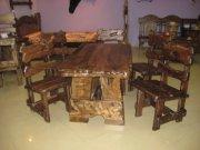 """Мебель под старину """"Сварог""""-Стол и стулья для баров, ресторанов, домов, котеджей и квартир, Украина, Киев."""